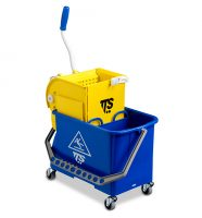 Carrello Double Bucket lt.20 c/strizz. TEC