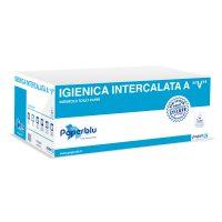 """CARTA IGIENICA INTERCALATA """"V"""" 2V P.C. PZ. 9000"""