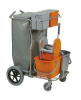 CARRELLO SMART 1 TOP INOX BIG FOOT PRESSA H2O