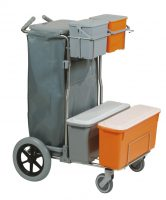 CARRELLO SMART 2 TOP INOX BIG FOOT