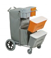 CARRELLO SMART 3 TOP INOX BIG FOOT