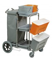 CARRELLO SMART 5 TOP INOX BIG FOOT