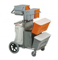 CARRELLO SMART 4 TOP INOX BIG FOOT